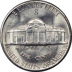1942 S 5C MS reverse