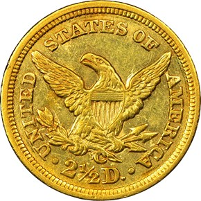1846 C $2.5 MS reverse