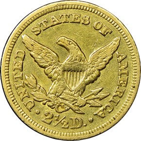 1851 C $2.5 MS reverse