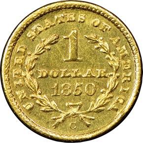 1850 C G$1 MS reverse
