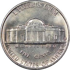 1953 S 5C MS reverse