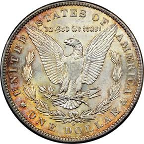 1897 O $1 MS reverse