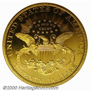 1879 $20 PF reverse