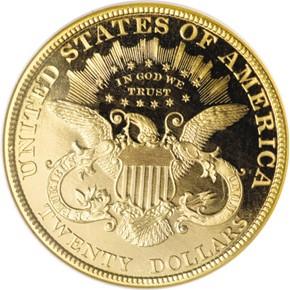 1899 $20 PF reverse