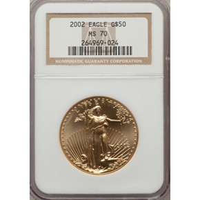 2002 EAGLE G$50 MS obverse