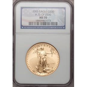 2005 EAGLE G$50 MS obverse