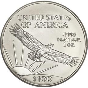 2002 EAGLE P$100 MS reverse