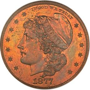 1877 J-1539 50C PF obverse