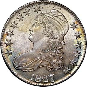 1827/6 50C MS obverse