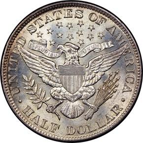 1894 50C MS reverse