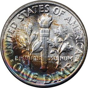 1947 10C MS reverse