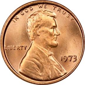1973 1C MS obverse