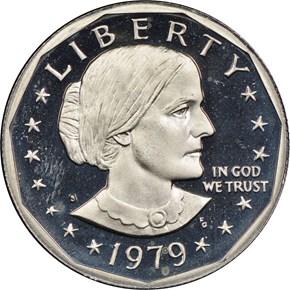 1979 S TYPE 1 $1 PF obverse