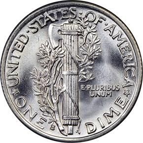 1939 S 10C MS reverse
