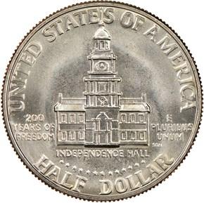 1776-1976 D 50C MS reverse
