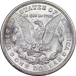 1921 D S$1 MS reverse
