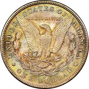 1889 O S$1 MS reverse