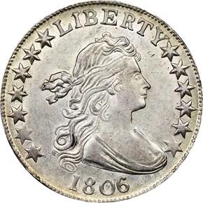 1806/5 50C MS obverse