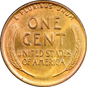1919 D 1C MS reverse