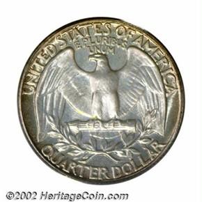 1942 25C PF reverse