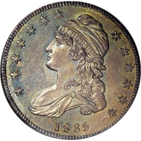 1835 50C PF obverse