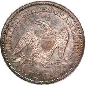 1842 50C MS reverse