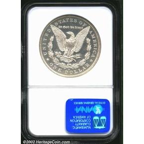 1879 O $1 PF reverse