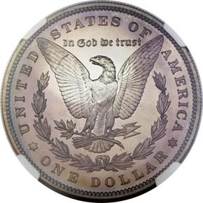 1897 S$1 PF reverse