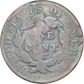 POST-1835 BROOKFIELD HT-540, E. STILLMAN NY MS reverse
