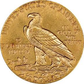 1911 D $2.5 MS reverse