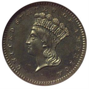 1869 J-766 G$1 PF obverse