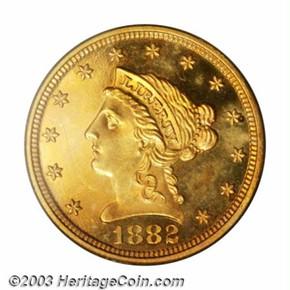 1882 $2.5 PF obverse