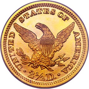 1889 $2.5 PF reverse