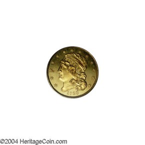 1833 $5 PF obverse
