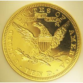 1904 $10 PF reverse
