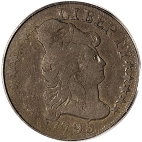 1795 J-23 $5 MS obverse
