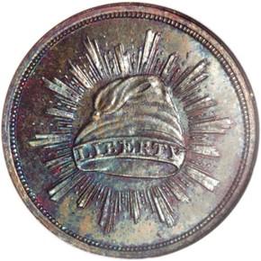 1836 J-70 G$1 PF obverse