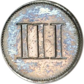 (1849) J-113 3CS PF obverse