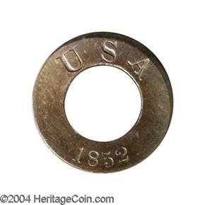 1852 J-143 G$1 PF obverse