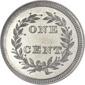 1853 J-151 1C PF reverse