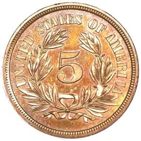 1866 J-495 5C PF reverse