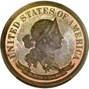 1866 J-549 GILT $20 PF obverse