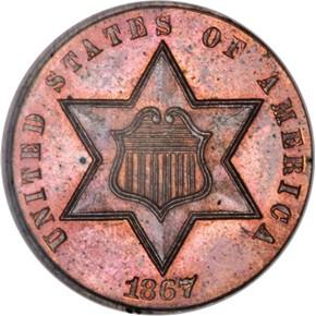 1867 J-560 3CS PF obverse