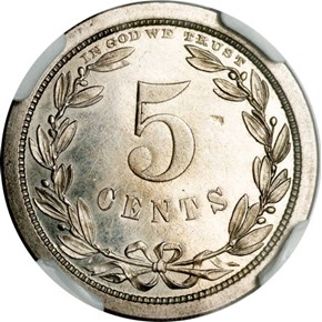 1868 J-623 5C PF reverse