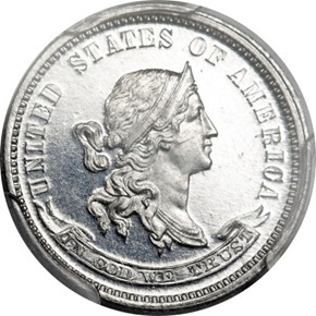 1870 J-848 10C PF obverse