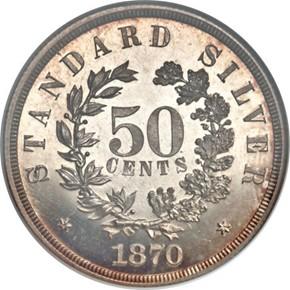 1870 J-987 50C PF reverse