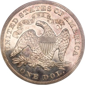 1871 J-1146 S$1 PF reverse