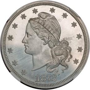 1872 J-1252 $20 PF obverse
