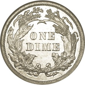 1873 J-1269 10C PF reverse