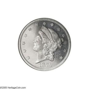 1874 J-1382 $20 PF obverse